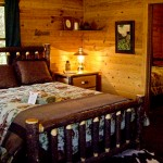 two bedrooms in cabin